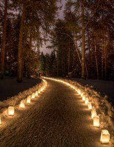 освещенный путь
